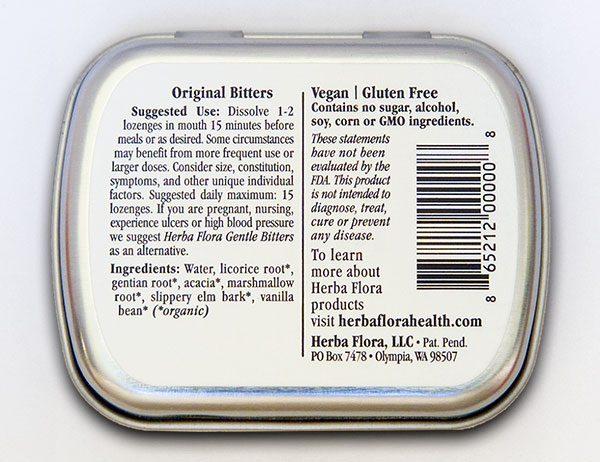 Herba Flora Original package bottom